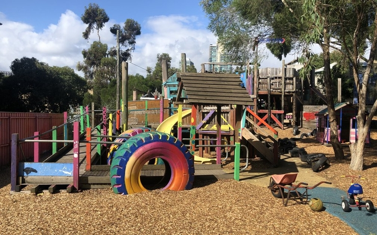 skinners playground south melbourne