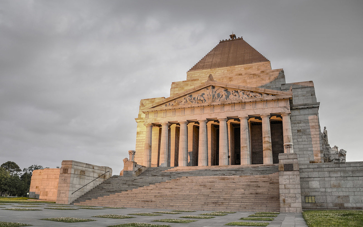 shrine remembrance anzac bretonneux