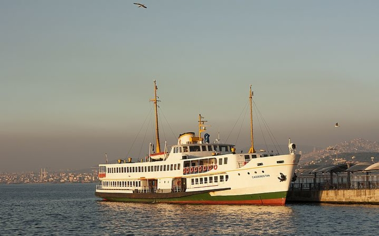 Ferry istanbul 5 centimes