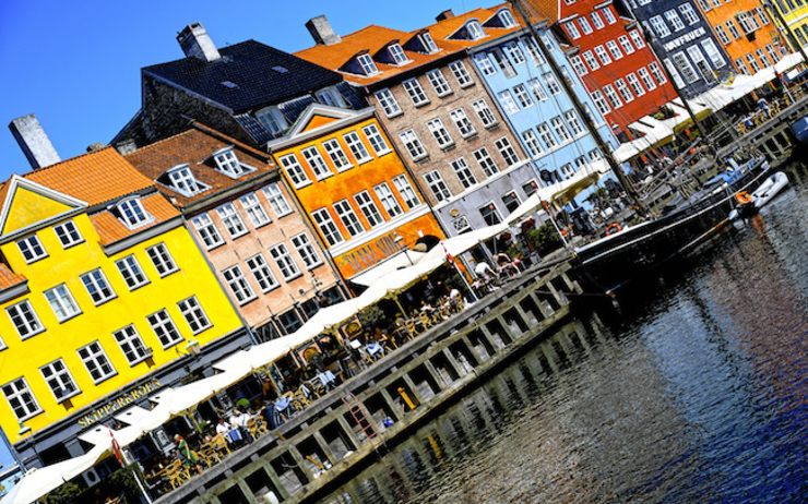 Nyhavn Martin Dedron orange photographe