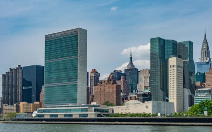Siège des Nations Unies dans le quartier de Turtle Bay à New York