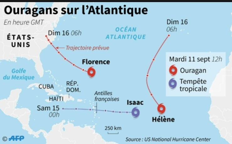 cyclone Antille